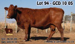 Lot 94 - GCD 10 05