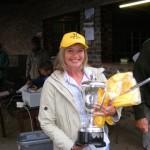 Winner of the Weaner Competition Trophy- Elizabeth Klopper
