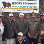 Frontier Group (L-R) Darryl Fetting, Brett Knott, Justin Stirk, JJ Park, Craig Handley and Jono Fetting (Kneeling)