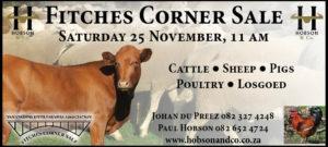 Fitches Corner Sale