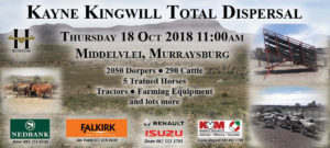 Kayne Kingwill Total Dispersal Sale