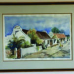 Arniston Cottages water colour