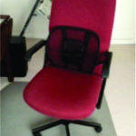 Office type chair on casters