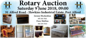 Rotary Household Auction