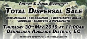 Arthur & James Moorcroft Total Dispersal Sale