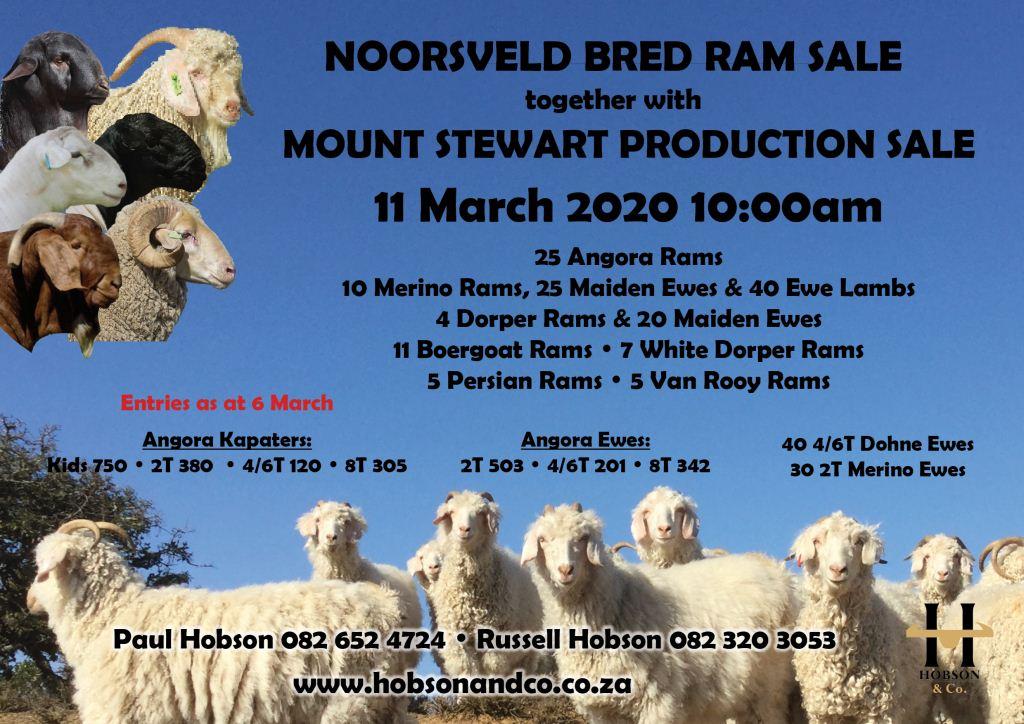 Noorsveld & Mt Stewart Poster QTY Posters
